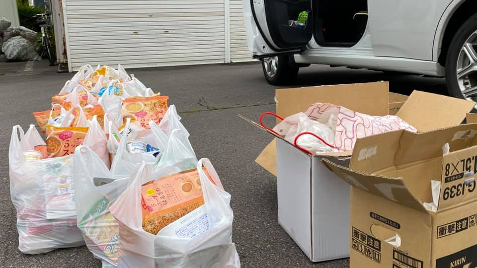Hakodate La Salle Mission Club Helps Out